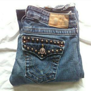 (C9) True Religion Bobby Jeans